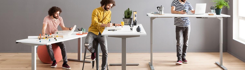 Möbel für Ihr Büro und Arbeitszimmer bei Interliving Möbel Boer