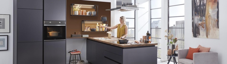 Entdecken Sie WERT-KÜCHEN bei Interliving Möbel Boer